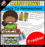 Math Waves: Freebie