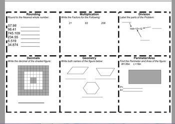 Math Weekly Homework 1-4