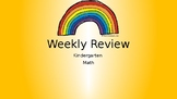 Math Weekly Review