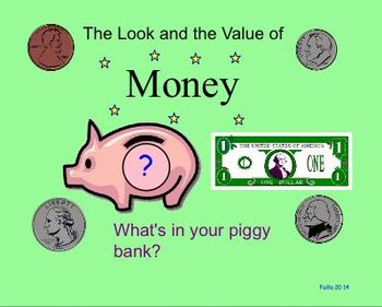 Math - What's in your Piggy Bank!