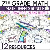 Math Wheel Bundle for Grade 7