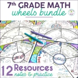 Math Wheel Bundle for Grade 7