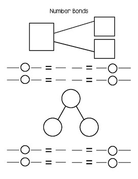 Math White Board Template