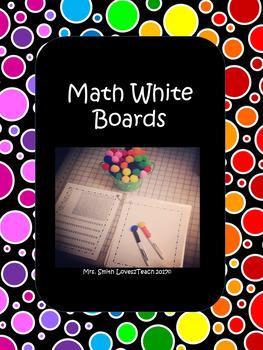 Math White Boards