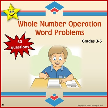 Math Problem-Solving Word Problems