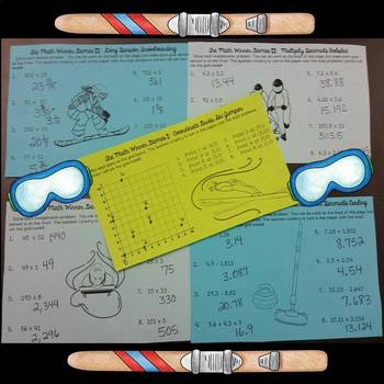 Math Winner Games Winter Activities