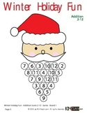 Math Christmas / Winter Holiday Fun Pack - Add, Subtract,