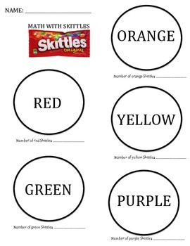 Math With Skittles
