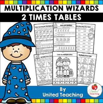 Math Wizards Multiplication 2 Times Tables