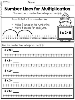 Math Wizards Multiplication 8 Times Tables