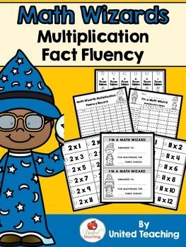 Math Wizards Multiplication Fact Fluency