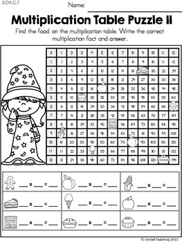 Math Wizards Multiplication Mixed Facts Review
