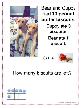 Math Word Problem Close Read: Puppy Math