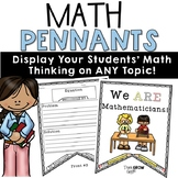 Math Pennants Word Problems