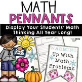 Math Banners Word Problems For All Seasons
