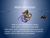 Math Word Problem Power Point Game