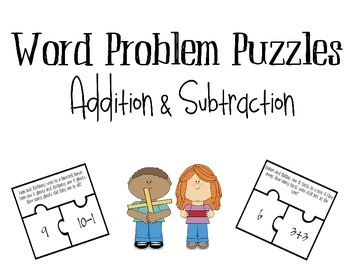 Math Word Problem Puzzles