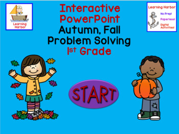 Math Word Problem Solving 1st Grade PowerPoint