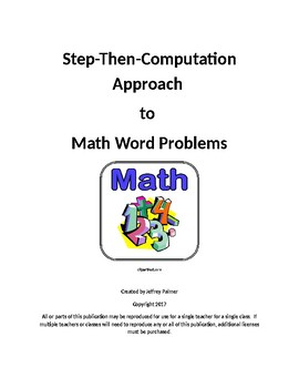 Math Word Problem Solving Approach
