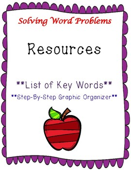 Math Word Problem Solving Resources