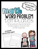Math Word Problem Template