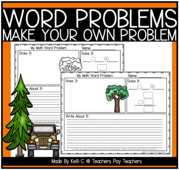 Word Problem Templates For Addition and Subtraction