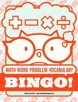 Math Word Problem Vocabulary Combo Pack
