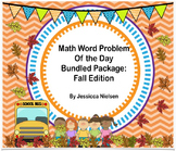 Math Word Problem of the Day: Fall Bundled Package