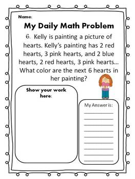 Math Word Problem of the Day: February Edition