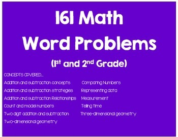 Math Word Problems (161 Journal Prompts_