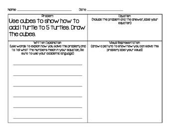 First Grade-Math Word Problems (161 Journal Prompts_