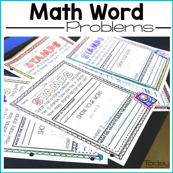Math Word Problems for the Year