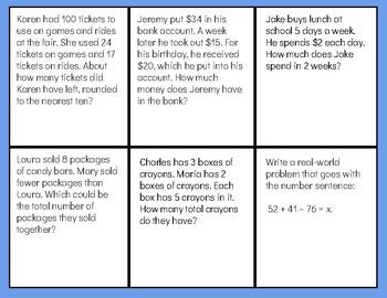 Math Word Problems- 3.OA.8
