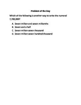Math Word Problems (4th Grade STAAR) Pack 3--Aligned to NEW TEKS