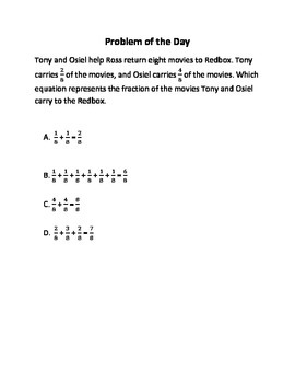 Math Word Problems (4th Grade STAAR) Pack 4 -- Aligned to the NEW TEKS
