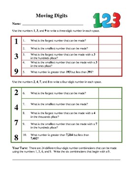 Math Word Problems - Activities and Worksheets