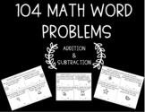 Math Word Problems-Addition & Subtraction