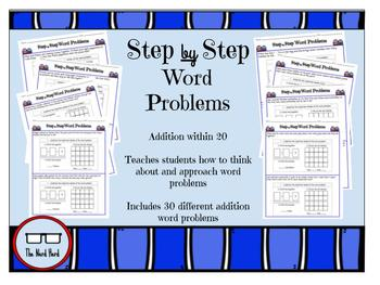 Math Word Problems Addition Within 20