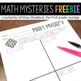 Math Word Problems FREEBIE {Customizable for K-4}