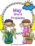 Math Word Problems for May - Grades 2 -3
