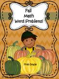 Math Word Problems Fall