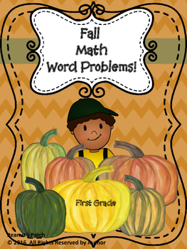 Math Word Problems Fall
