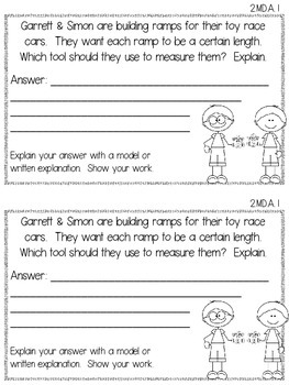 Word Problems: Measurement & Data and Geometry