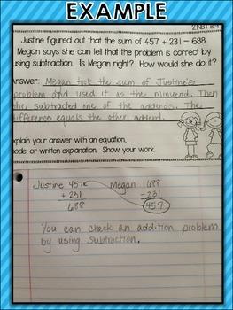 Word Problems  - OA & NBT