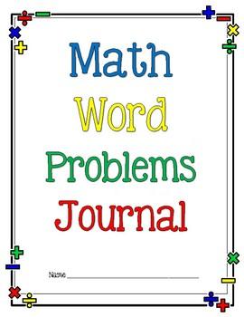 Math Word Problems Journal