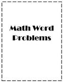 Math Word Problems (Measurement)