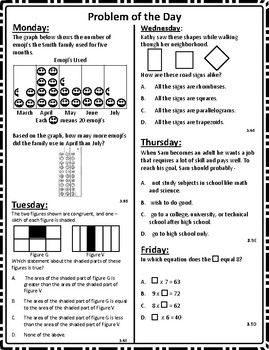 Math Word Problems Pack 7 (3rd Grade STAAR) ALIGNED TO NEW TEKS