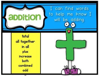 Math Word Problems {Picture It Booklets!} First Grade and Kindergarten Math