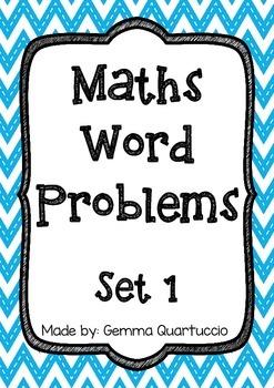 Math Word Problems - Set 1