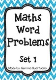 Math Word Problems - Set 1